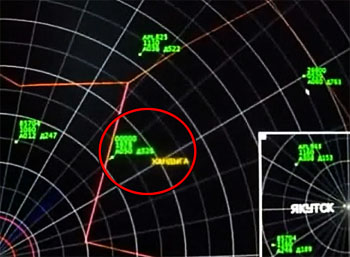 Radar Image of UFO