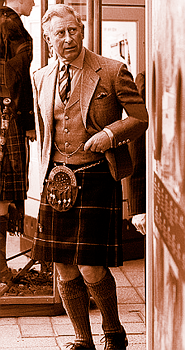 Prince c in kilt