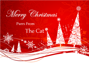The Cat s Christmas Card
