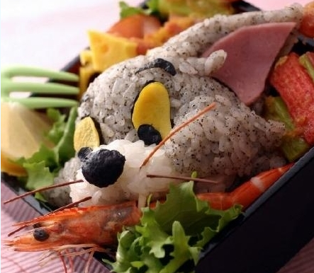 Tom and Jerry sushi
