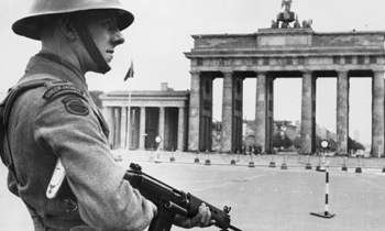 Soldier in Berlin