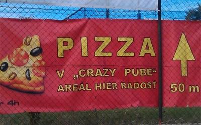 Pizza with a plus Bratislava
