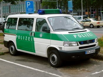 Polizei Van