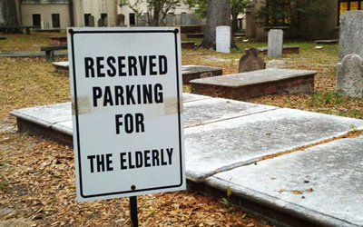 Special Parking for Pensioners North Carolina