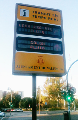 If you visit Valencia don t forget to drop by colon fluid on the metro