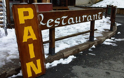 Some restaurants in France are a real pain