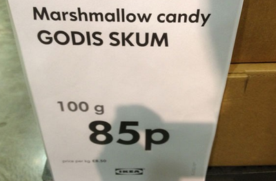 Fair point at Ikea