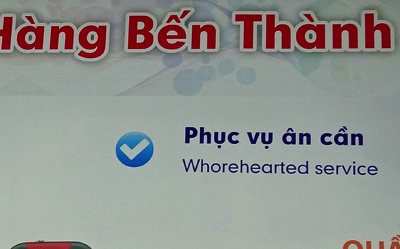 Trying to please in Saigon Vietnam