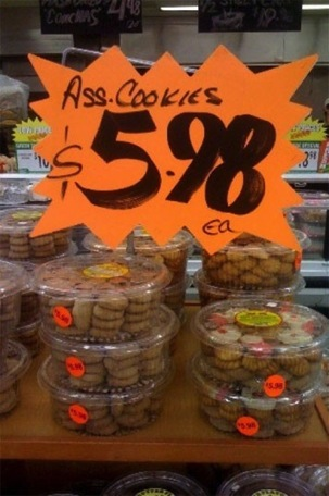 World Famous Canadian Ass Cookies