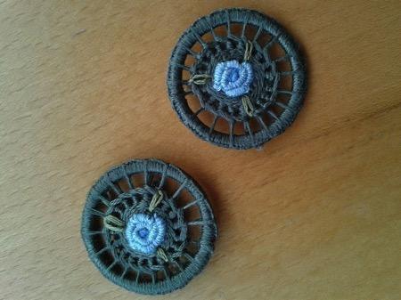 Dorset crosswheel buttons