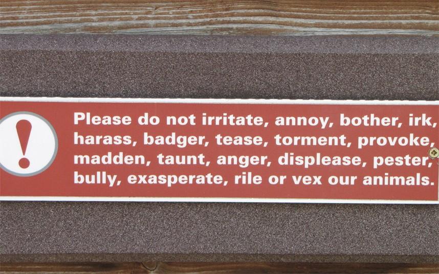 Irish wordsmith found in Dublin Zoo