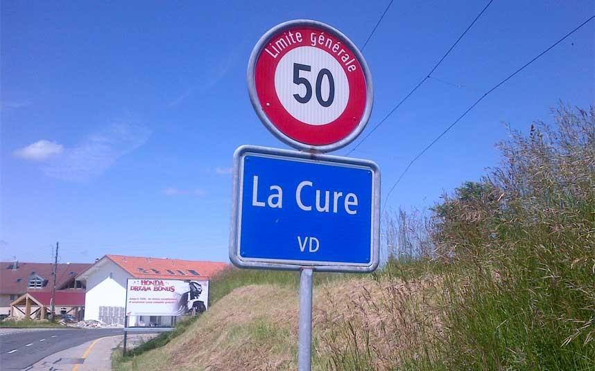Be cured in Switzerland