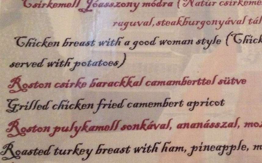 Breast good woman style Hungary