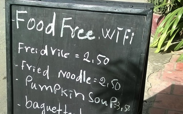 I hate food in my wifi Phnom Penh Cambodia