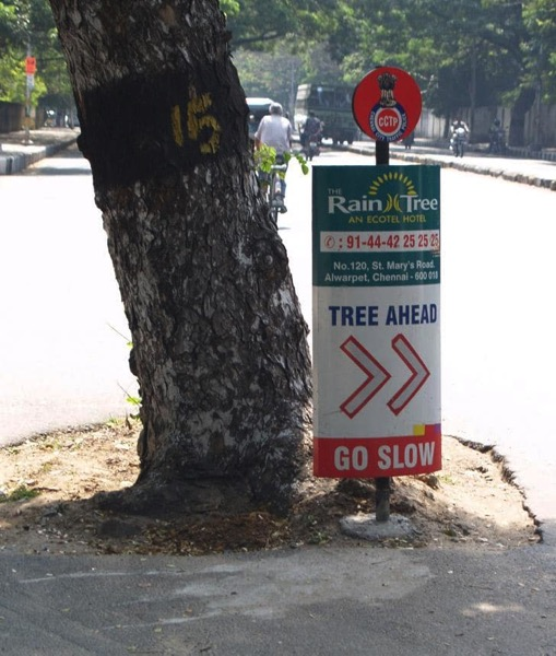Useful traffic information from India