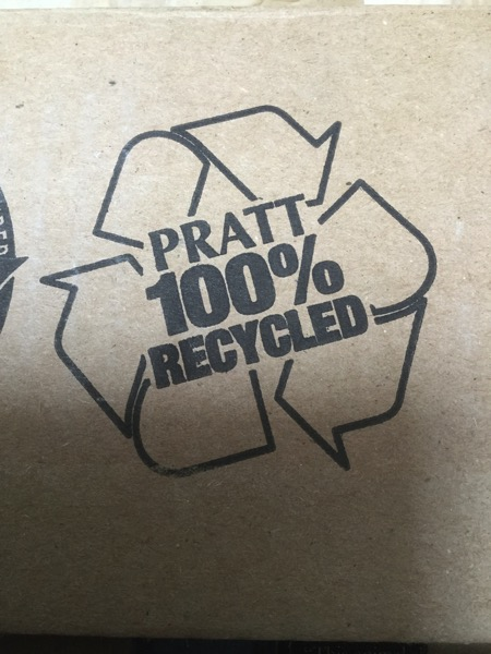 100 Recycled Pratt