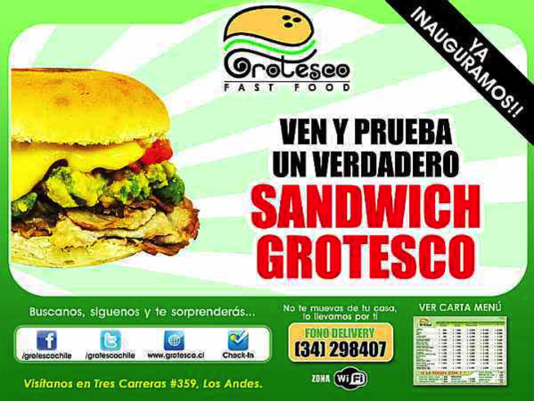 Sandwich Grotesco Yummy