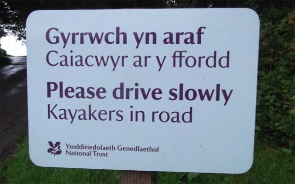 Welsh is an odd language with odd customs