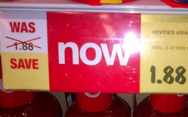 Saving supermarket style