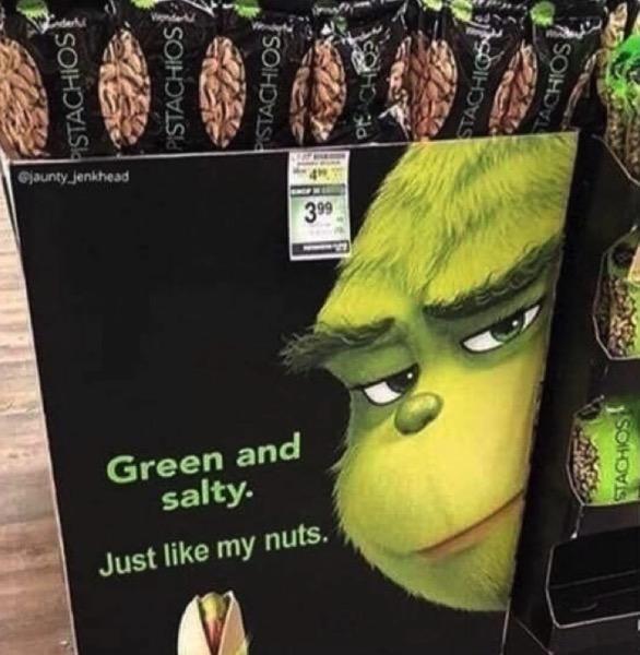 Like my nuts