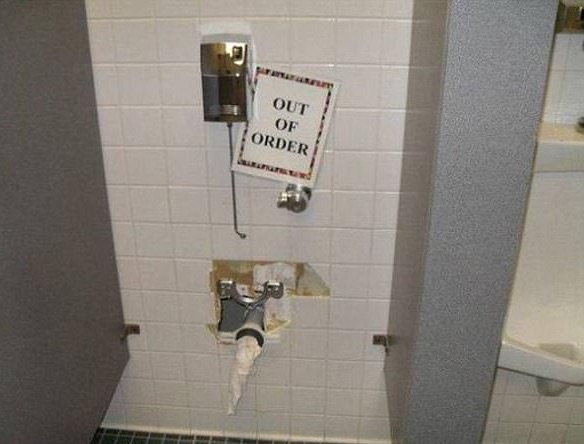 Out of order and place