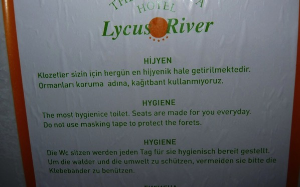 Toilet seats made for you everyday in Tuurkey