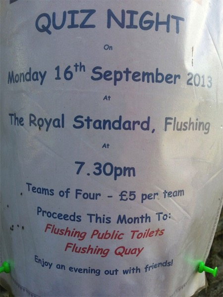 All proceeds go to flushing public toilets what a cause