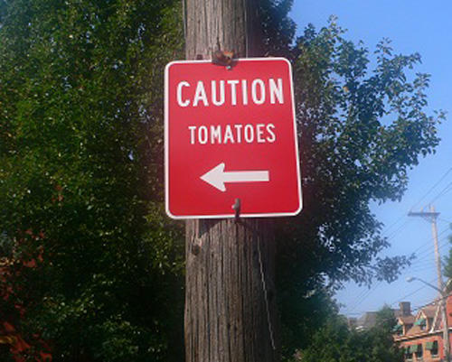 Look out Tomatoes